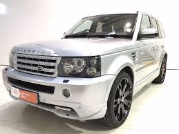 land rover silver used zermatt silver land rover range rover sport for sale derbyshire