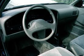 Hyundai Elentra Interior 1992 95 Hyundai Elantra Consumer Guide Auto