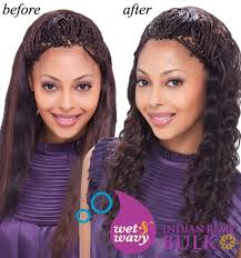 the best wet and wavy hair braids janet collection indian remi wet wavy human hair braid ripple
