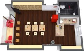 floorplan designer coffee shop plan roomsketcher