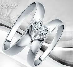 s day rings s day silver plated copule wedding rings for men and