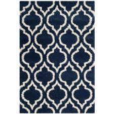 Cobalt Blue Area Rug 3 X 5 Shag Blue Area Rugs Rugs The Home Depot