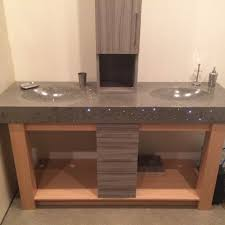 bathroom counters and sinks archives diamond finish concrete