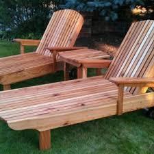 Cedar Chaise Lounge Outdoor Furniture U2013 Mcintosh Woodworking