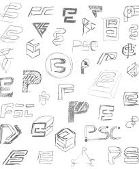 thumbnail sketch sheet a great variety of different designs for