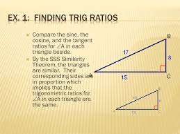 students will analyze and apply the tangent ratio for indirect