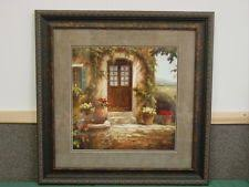 home interiors and gifts framed home interior homco picture beautifuly framed with piano