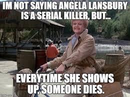Angela Lansbury Meme - serial killer imgflip