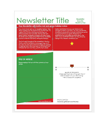 50 free newsletter templates for work and classroom u2013 free