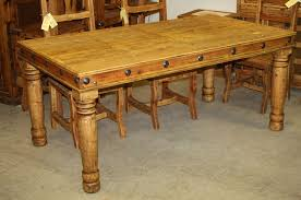 pine dining room table francis dining table 71 durango trail rustic furniture