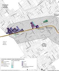 East Los Angeles Map by Breaking Down The Draft Expo Corridor Transit Neighborhood Plan