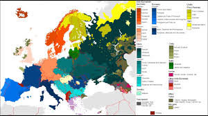 Map Eastern Europe Distribution Of Ethnicities In Europe Comprehensive Map Youtube