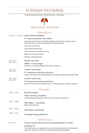 Industrial Design Resume Examples by Application Engineer Resume Samples Visualcv Resume Samples Database