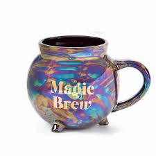magic brew cauldron mug