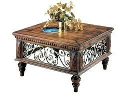 Rustic Square Coffee Table With Storage Square Coffee Table With Storage Rankhero Co