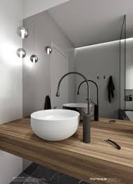 Award Winning Monochromatic Bathroom By Minosa Design by Valerie Valk Valerievalk On Pinterest