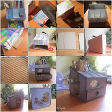 Desk Organizer Diy Diy Desktop Organizer For Diy Tutorial Project Ideas