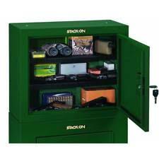 14 gun steel security cabinet stack on gcg14p 14 gun steel security cabinet green gcg14pds ebay