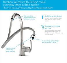 kitchen faucet handle adapter repair kit moen 7590csl aberdeen one handle high arc pulldown kitchen faucet