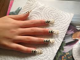 me and my thoughts nail art