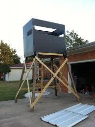Deer Blind Elevators Built A Tower Blind With Elevators Oklahoma Shooters