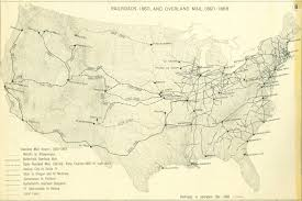 map us railroads 1860 railroads and the of modern america search