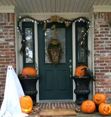 front door charming hallowesen front door idea for home design