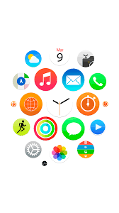 iwatch theme for iphone 6 ipad wallpaper irumors now
