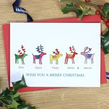 extraordinary christmas cards sweet personalized card packs