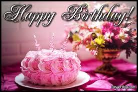 birthday flower cake happy birthday flower cake glitter graphic greeting comment