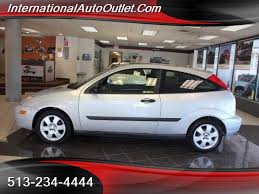 2001 Ford Focus Zx3 Interior 2001 Ford Focus Zx3 Sunroof For Sale In Hamilton Oh Stock 18097