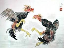 fighting rooster paintings america