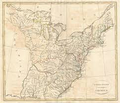 Map Of United States Of America by File 1799 Cruttwell Map Of The United States Of America