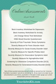 Depression Worksheets Depression Self Help Can Be Vital To Your Healing Process
