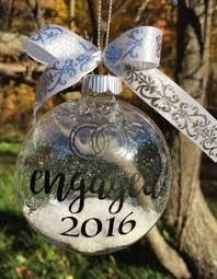 we re engaged ornament engagement ornament engaged ornament