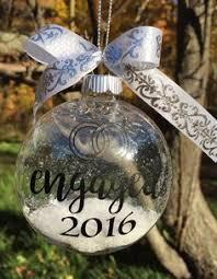 just engaged ornament underthecarolinamoon
