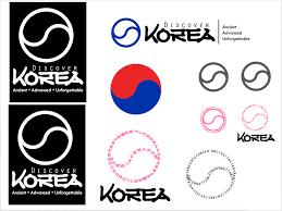 korean design discover korea logo student project aaron