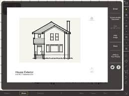 Home Exterior Design Ipad App Arrette Sketch U2013 Draw And Design At Scale On The App Store