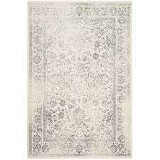 charlton home reynolds ivory silver area rug 182 8 u0027 x 10