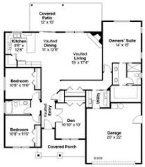 custom ranch floor plans ranch house plans with open floor plan craftsman house plan