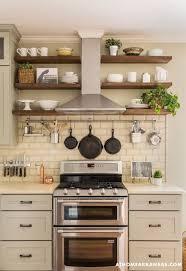 kitchen open shelving ideas ideas on open shelves in the kitchen http homechanneltv