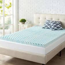 zinus mattress toppers u0026 pads bedding the home depot