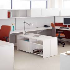 modern standing desk desk with shelves work standing desk modern style of white wooden
