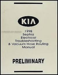 1998 kia sephia electrical troubleshooting manual wiring diagram