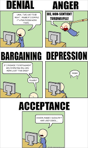 Computer Programmer Meme - the five stages of programming grief humorous comic how to geek