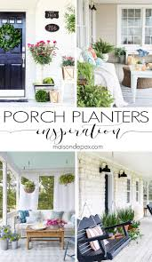 porch planter ideas and inspiration maison de pax