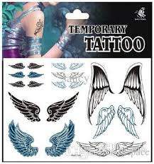 wholesale products temporary tattoo sticker diy angel wings