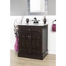 Foremost In X In Blaire Undermount  BirchPoplar Bathroom - Bathroom vanit