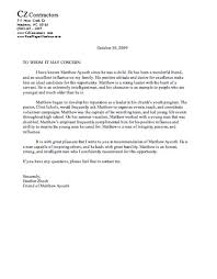sample college recommendation sample college recommendation letter from youth pastor cover
