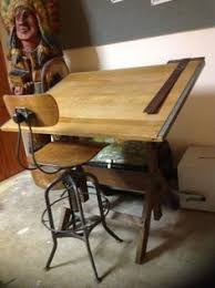 Drafting Table Furniture Antique Drafting Table Stools 3 Antique Adjustable Industrial